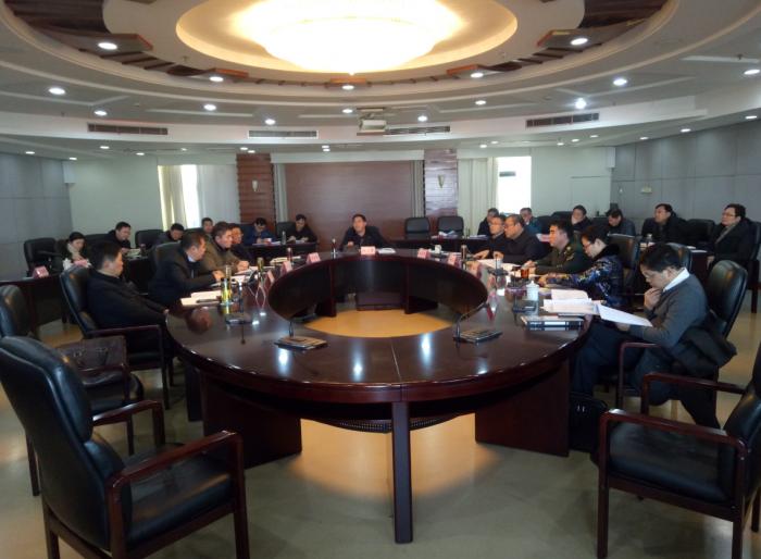 宝应县委常委扩大会部署2月份重点工作